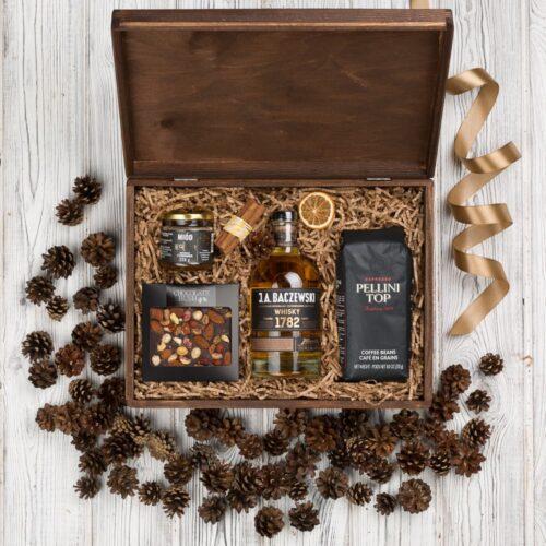baczewski whisky kosz prezentowy