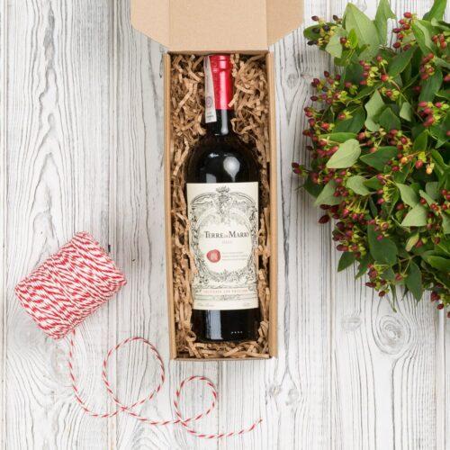 włoskie wino czerwone na prezent